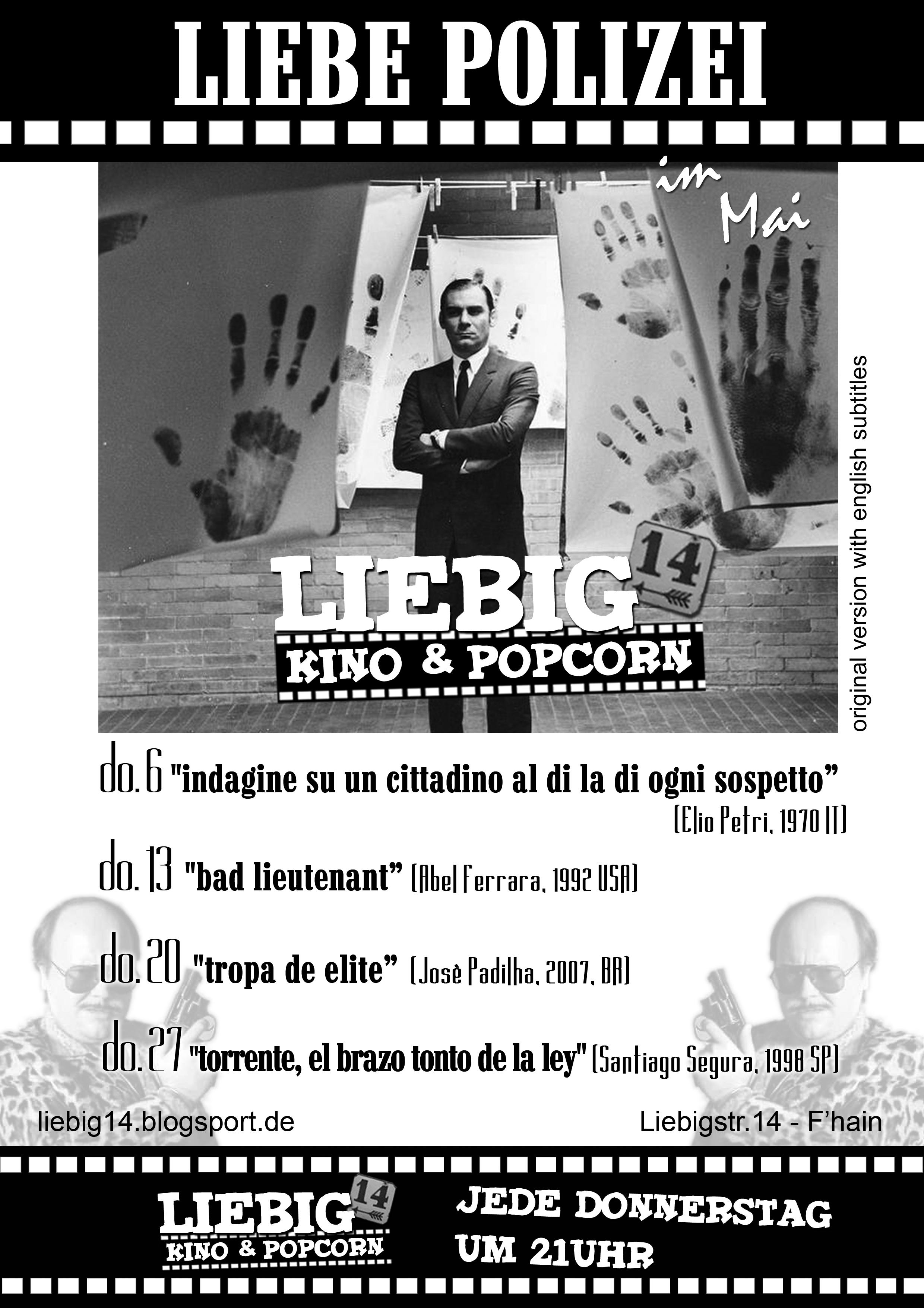 Kino&Popcorn 21uhr jeden Donnerstag
